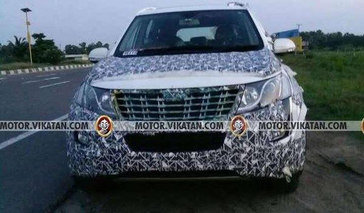 2018 Mahindra XUV500 Facelift: ब्रांड न्यू स्पाईशॉट्स रिवील करते हैं बहुत कुछ