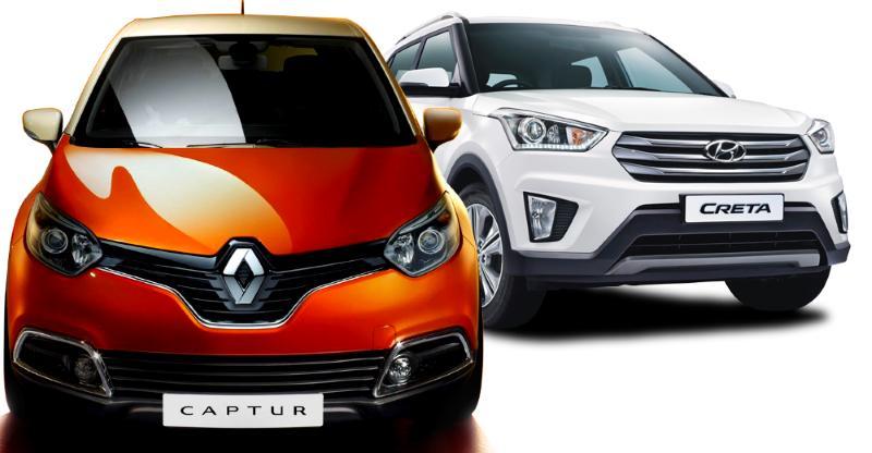Renault Captur या Hyundai Creta: किसमे है ज्यादा दम