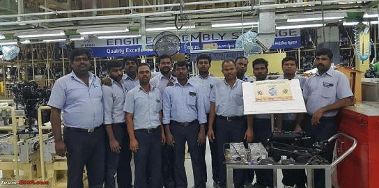 चेन्नई फैक्टरी में शुरू हुआ निर्माण 2018 Hyundai Santro (कोड-नाम AH2)
