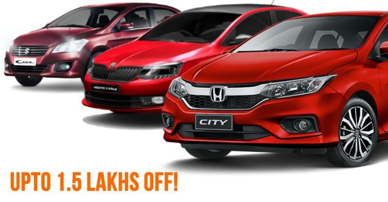 ये हैं Maruti Ciaz से लेकर Honda City तक 10 sedans जो आप खरीद सकते हैं भारी डिस्काउंटस पर