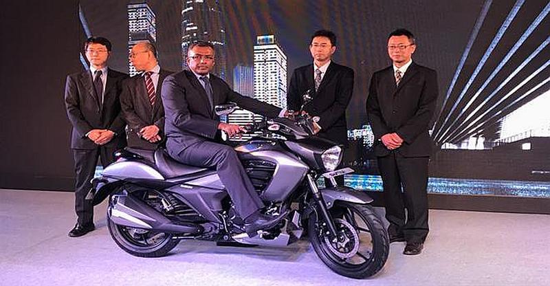 Suzuki Intruder 150cc क्रूज़र मोटरसाइकल इंडिया में लांच हो चुकी है