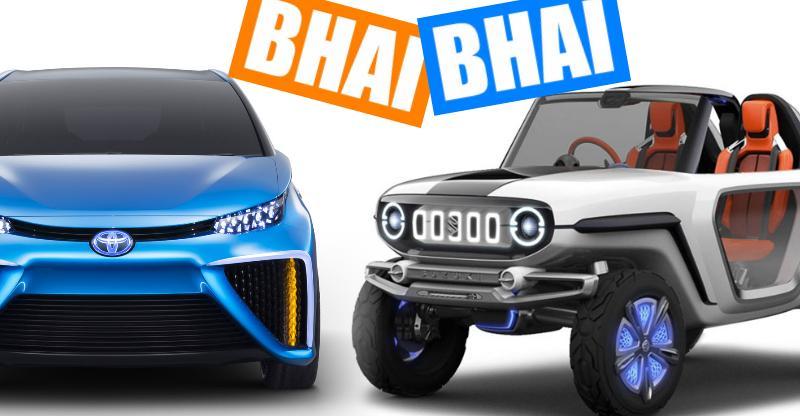 अब भारत में इलेक्ट्रिक कार बनायेंगी Maruti Suzuki-Toyota
