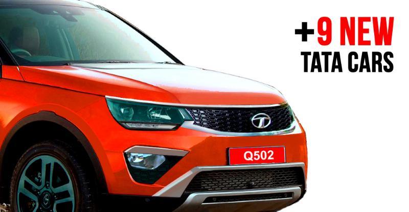 भारत के लिए Tata Motors की 10 नयी कार्स