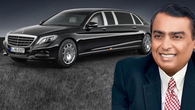 Bulletproof और Bombproof है Ambani की 25 करोड़ की Mercedes