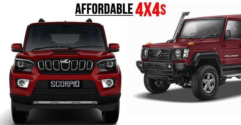 7 किफायती 4WD SUVs उनके लिए जो चाहते हैं वाकई एक्स्प्लोर करना