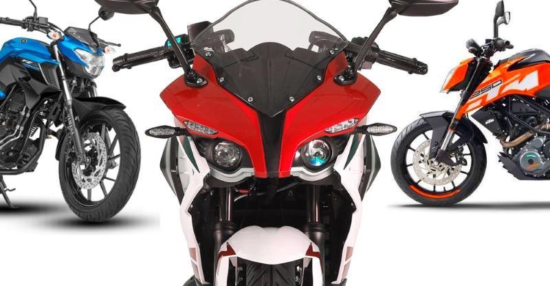2 लाख के अन्दर 10 स्पोर्टी, हाई परफॉरमेंस बाइक्स: Bajaj, KTM,  TVS, Mahindra, और Yamaha