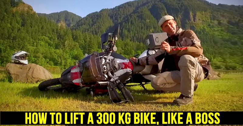3 ऐसे तरीके जिससे आप गिरी हुई बाइक को आसानी से उठा पाएंगे…