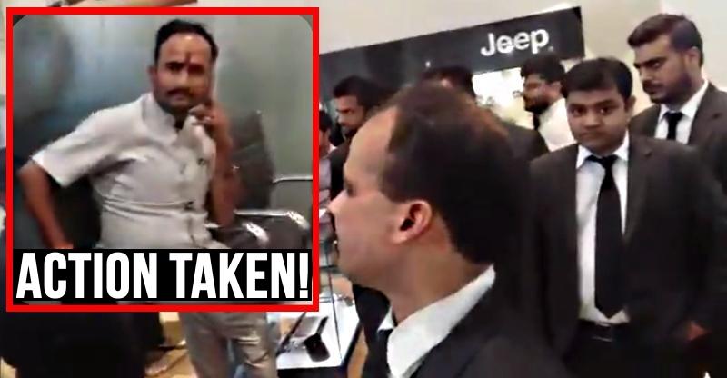 Jeep और Delhi डीलर ने ये कदम उठाया अपने स्टाफ के खिलाफ…