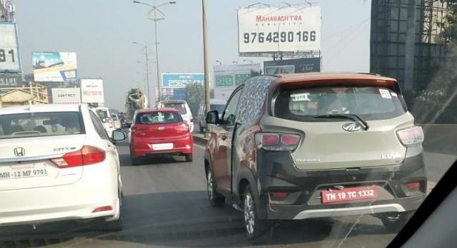 Mahindra KUV100 Electric भारत में देखी गयी पहली बार!!!