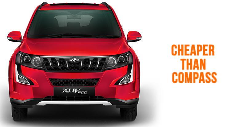 Mahindra XUV500 पेट्रोल आटोमेटिक हुई भारत में लांच; Jeep Compass से है काफी सस्ती