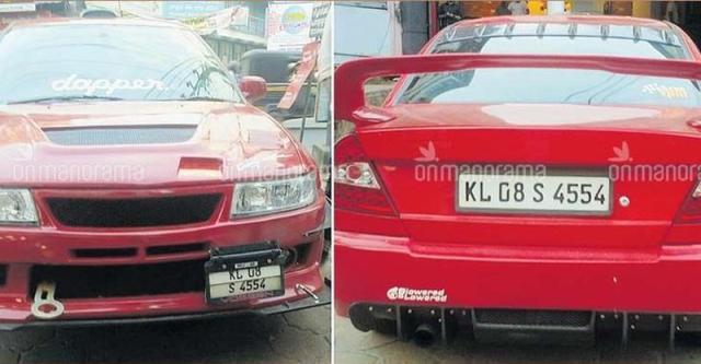 'Ferrari' जैसी दिखने वाली Mitsubishi Lancer को किया केरल RTO ने ज़ब्त…