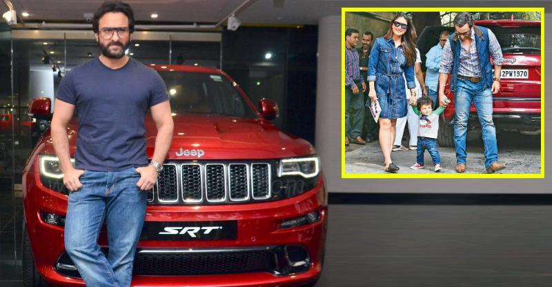 Jeep Grand Cherokee SRT के मालिक हैं Saif Ali Khan, सच या झूठ?