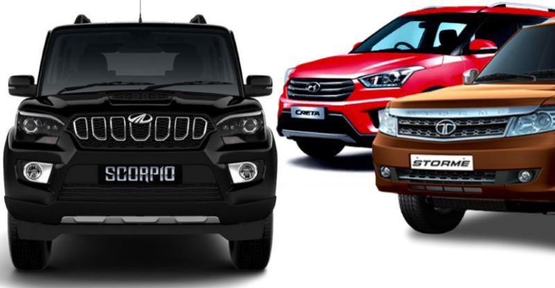 Mahindra Scorpio बनाम Hyundai Creta बनाम Tata Safari Storme: किसे खरीदनी चाहिए कौन सी कार?