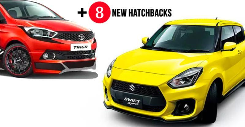 Maruti Swift से लेकर Hyundai Santro तक 2018 में लांच होने वाली Hatchbacks