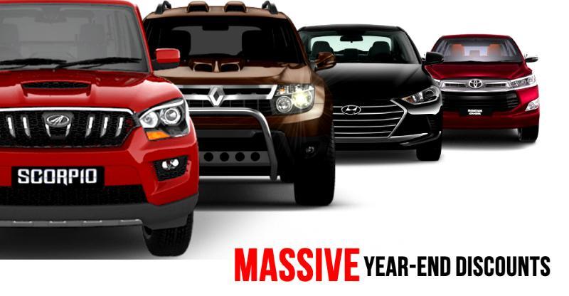 Car, SUV Discounts की भरमार, इन गाड़ियों पे है ज्यादा डिस्काउंट…