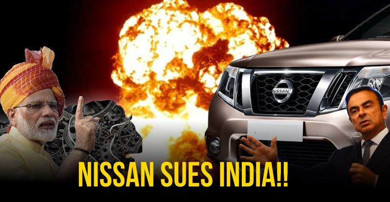 Nissan ने भारत पर रु. 5,000 करोड़ के लिए मुकदमा ठोका! पीएम मोदी को भेजा लीगल नोटिस