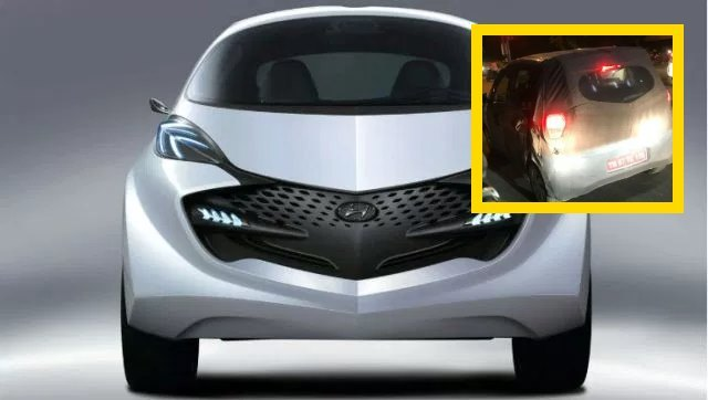 Hyundai Santro को किया गया स्पाई, 2018 ऑटो एक्सपो लॉन्च/ रिवील से पहले