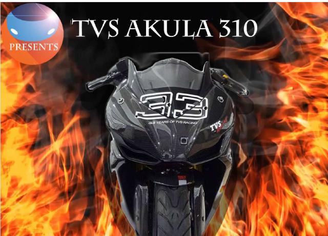 TVS Akula (Apache 310) launch से पहले Leak…जानिये Details यहाँ…