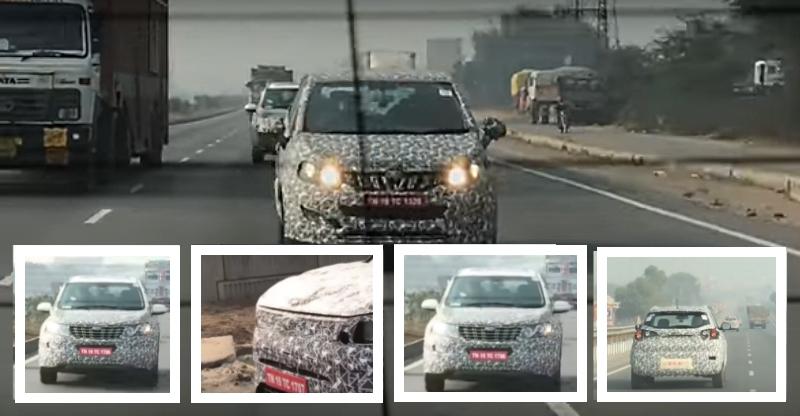 Mahindra S201 (Brezza Rival), XUV 700, U321 और 2018 XUV 500 — एक्सक्लूसिव स्पाई विडियो