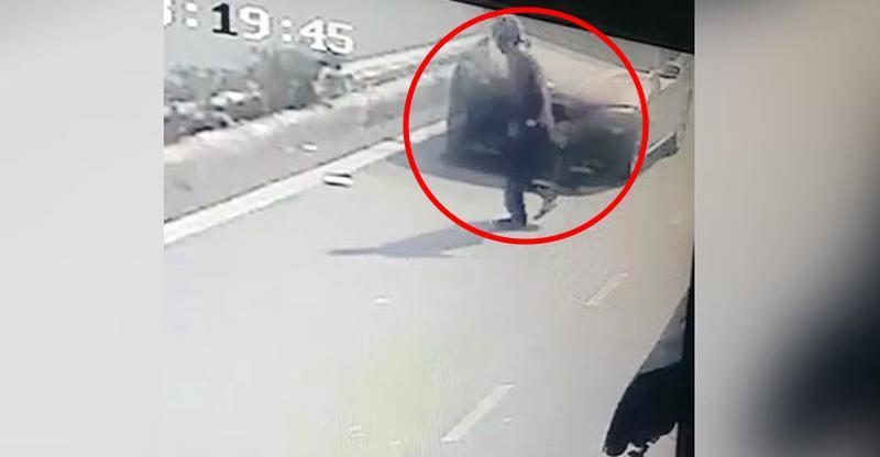 [CCTV] BMW Hit and Run, Delhi University में वृद्ध इंसान की मौत