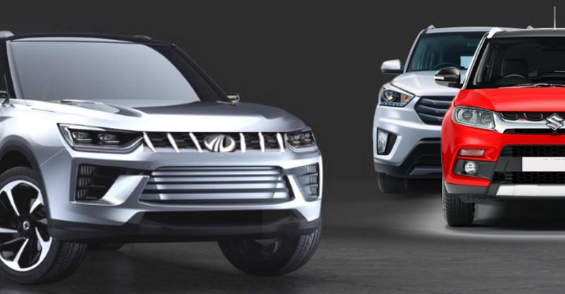 Maruti Vitara Brezza और Hyundai Creta को चुनौती देगी Mahindra की S201 Compact SUV