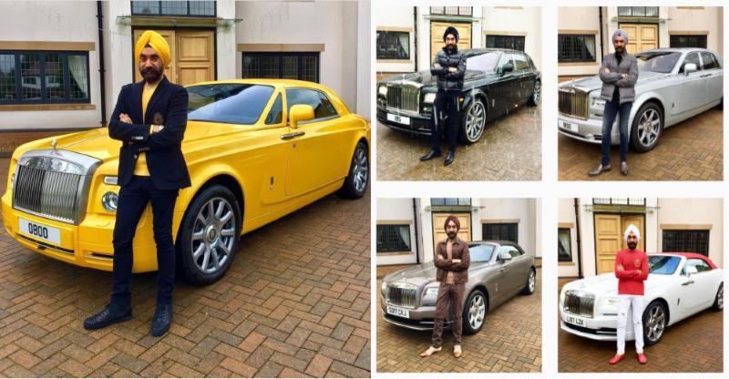 इस अरबपति सरदार के पास हर रंग की पगड़ी के लिए हैं मैचिंग Rolls Royce!
