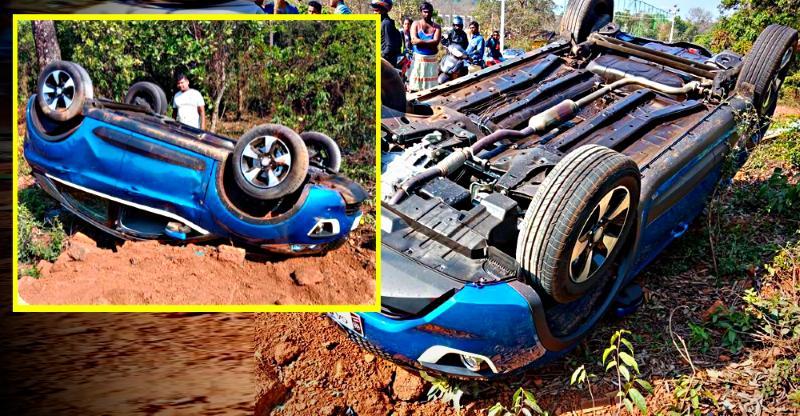 बड़ी दुर्घटना के बाद Nexon compact SUV मालिक ने Tata Motors को किया धन्यवाद