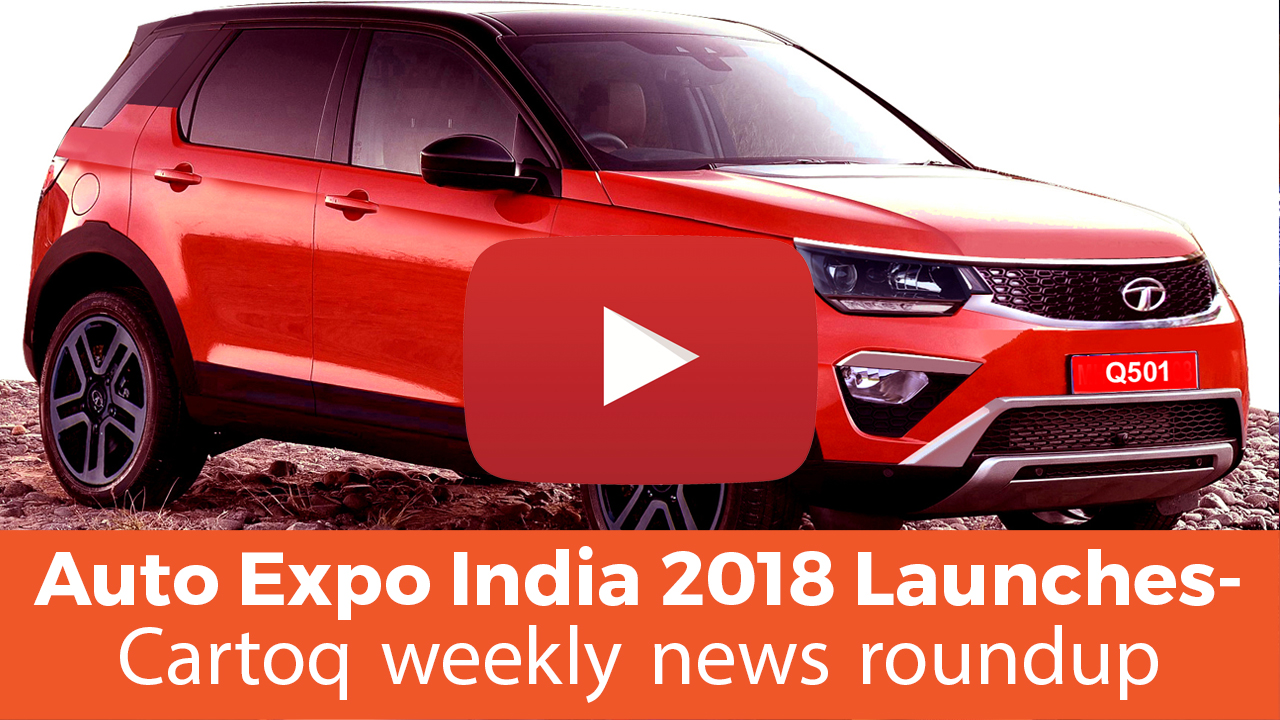 Auto Expo India 2018 Launches, Lexus LS 500H Launch — Cartoq weekly news roundup