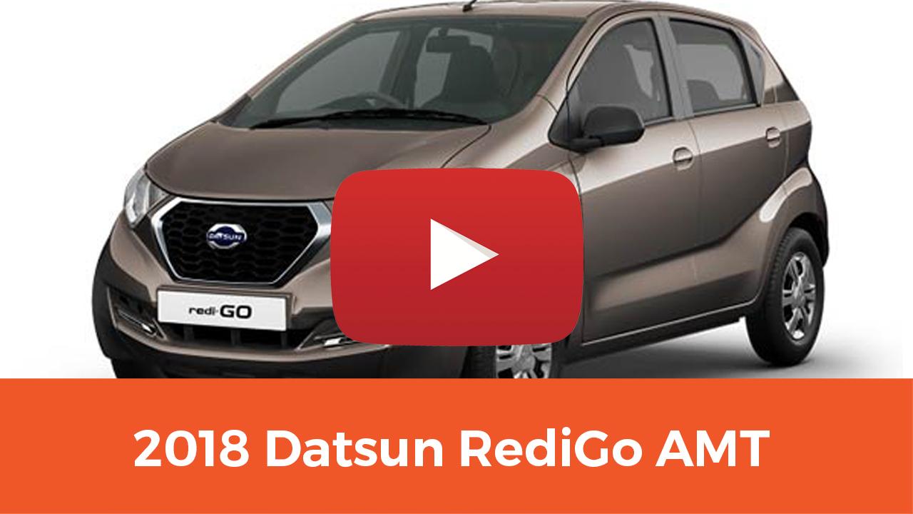 2018 Datsun RediGo AMT