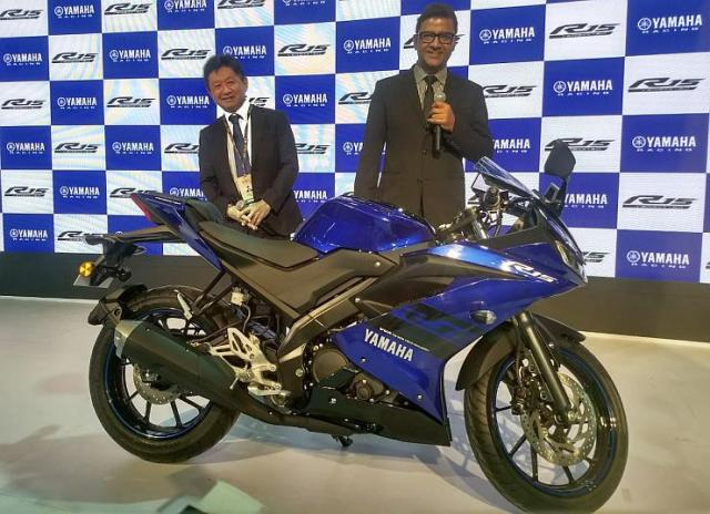 Yamaha R15 Version 3.0 हुई Auto Expo 2018 में लॉन्च, जानिये Details…