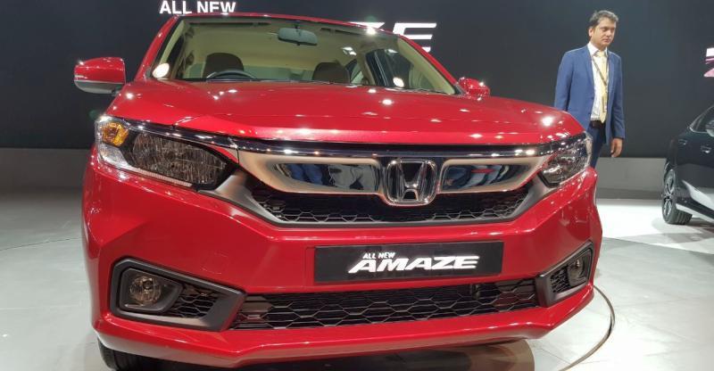 2018 Honda Amaze हुई Indian Auto Expo में अन्वेल; Maruti Dzire को मिलेगी टक्कर…