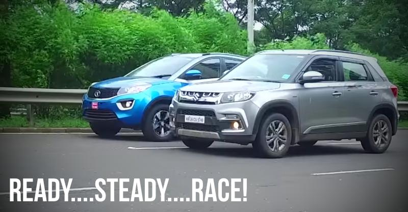 [Video] Maruti Vitara Brezza Vs Tata Nexon, कौन है ज्यादा तेज़