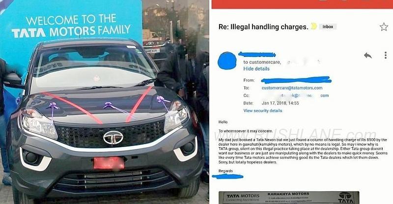 Tata Nexon Compact SUV Owner ने माफ़ कराया Handling Charge, आप भी कर सकते हैं ऐसा