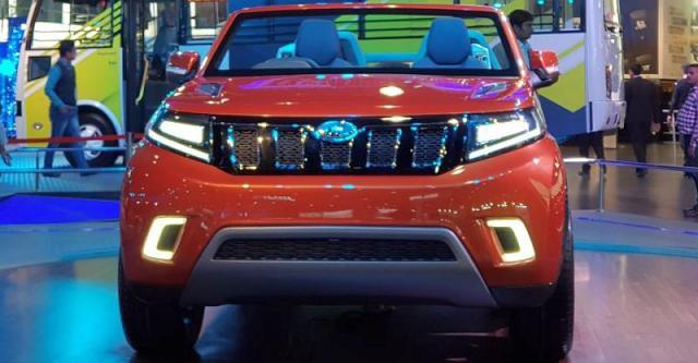Mahindra ने 2018 Auto Expo में की TUV300 पर आधारित Stinger Convertible SUV अन्वेइल, डिटेल्स पढ़ें…