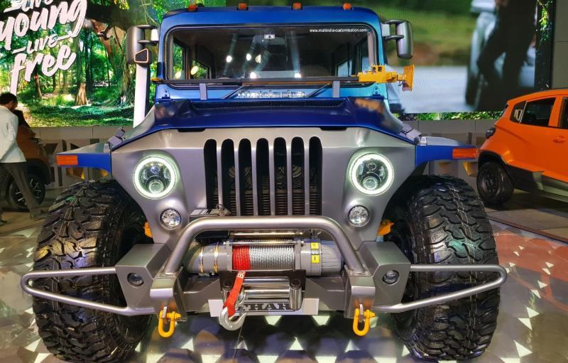 Mahindra Thar Wanderlust Custom हुई 2018 Auto Expo में रिवील…