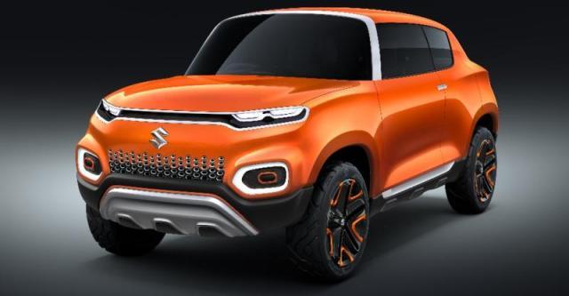Maruti की Future-S Micro SUV Concept हुई 2018 Auto Expo में Unveil