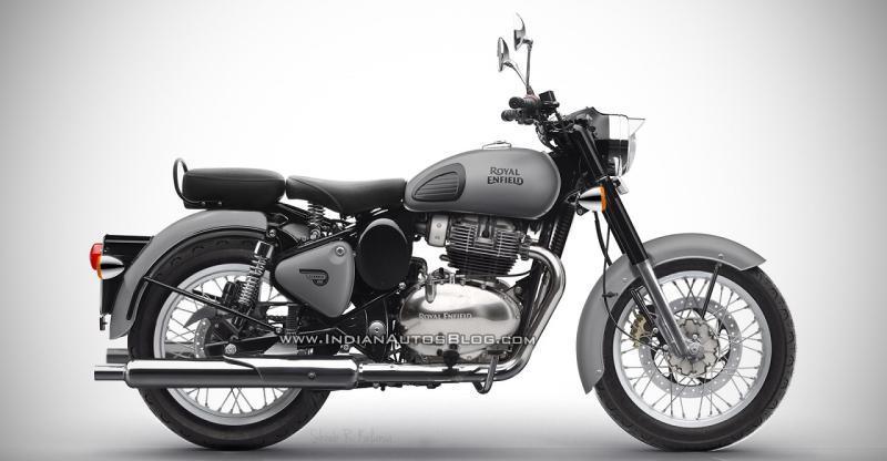 Royal Enfield Classic 650 Retro Motorcycle: पेश है एक Render
