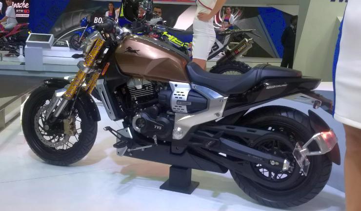TVS Zeppelin Concept Cruiser Motorcycle, Bajaj Avenger को मिलेगी चुनौती…