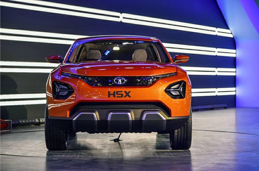 2018 Indian Auto Expo में Tata ने किया H5X SUV का अनावरण…