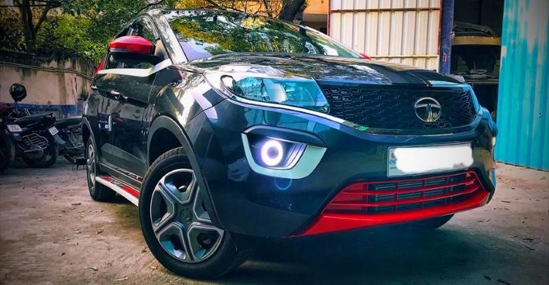 पेश है इंडिया की पहली मॉडिफाइड Tata Nexon कॉम्पैक्ट SUV!