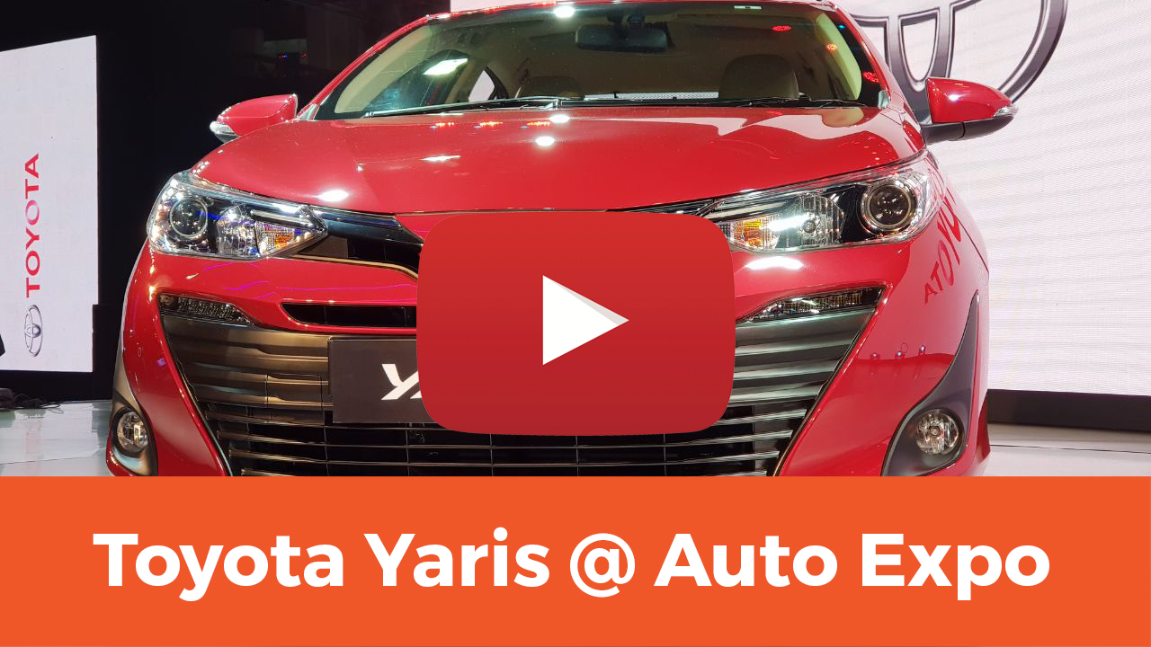 Toyota Yaris @ Auto Expo 2018 — First Look