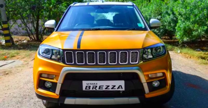 India की 10 HOT, Modified Maruti Vitara Brezza SUVs