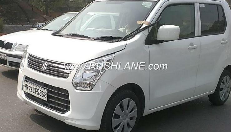 आधिकारिक लांच से पहले स्पाई शॉट्स में देखी गयी नयी नवेली Maruti WagonR