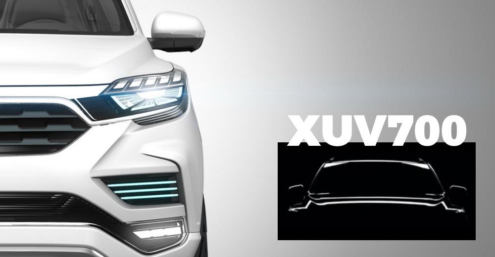 Mahindra XUV700 का टीज़र विडियो हो गया है रिलीज़: टक्कर देगी Toyota Fortuner और Ford Endeavor