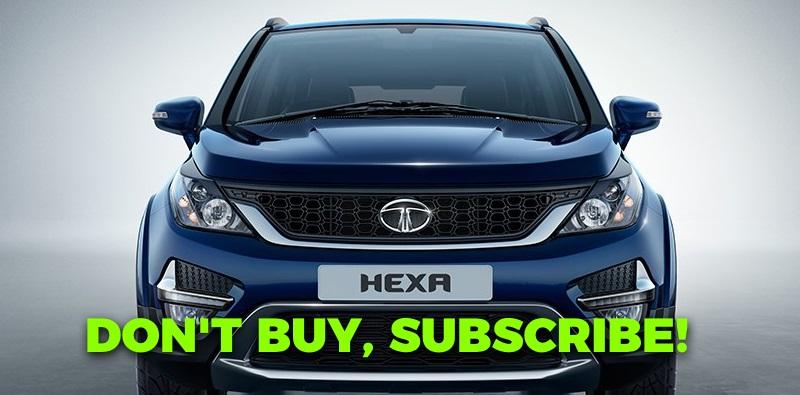 Hyundai i20 या Tata Hexa (और भी बहुत कुछ) के लिए सब्सक्राइब करें Zoomcar Zap Subscribe द्वारा!