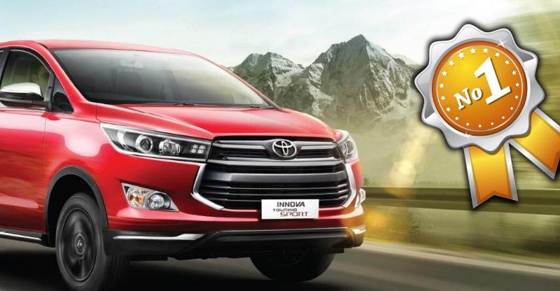 लगभग 1.5 lakh Toyota Innova Crysta बेचीं गयी हैं. क्या है इसके बारे में ख़ास?