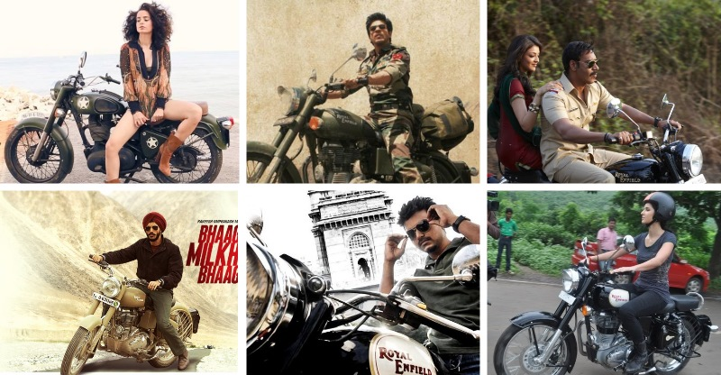 Shahrukh Khan से Sardar Khan तक, Movies में Royal Enfields…