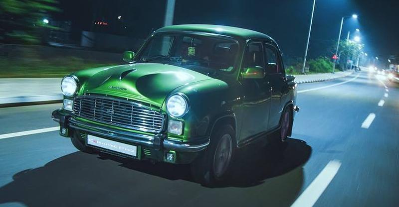 ये हरे रंग की मॉडिफाइड Hindustan Ambassador है अब तक की सबसे खूबसूरत रेस्टो-मॉड!