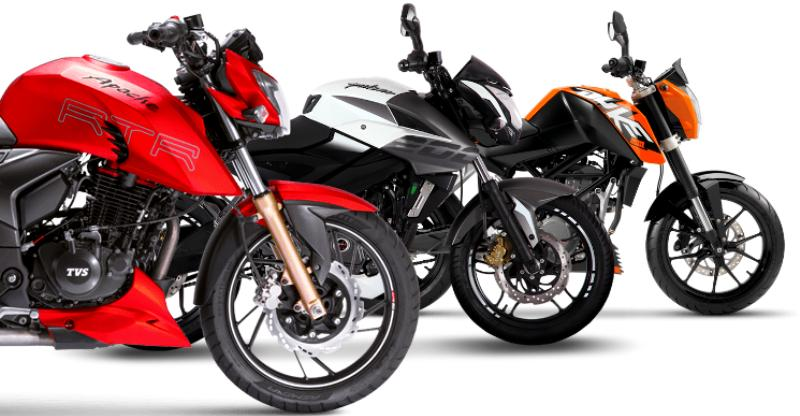 TVS Apache RTR 200 Vs Bajaj Pulsar 200 NS Vs KTM 200 Duke: 200cc Motorcycle मुकाबला!