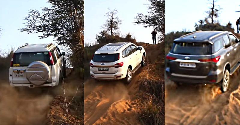 पुरानी Ford Endeavour ने मात दी Toyota Fortuner, Endeavour, Mahindra Thar, Isuzu V-Cross को: देखें क्यों…